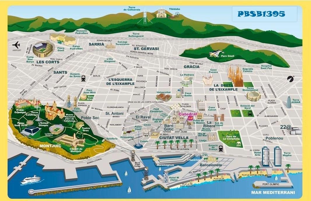 Touristen-Karte
